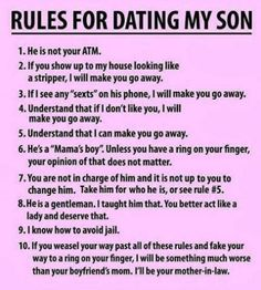 Mom Dad And Son Quotes Funny