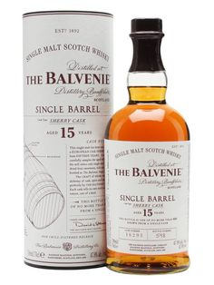 Balvenie 15 Year Old / Single Barrel / Sherry Cask : Buy Online - The Whisky Exchange