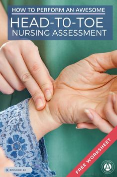 Step-by-step instructions on conducting a head-to-toe assessment In this episode, Nurse Mo walks you through a standard assessment and tips on how to prepare for your head-to-toe skills check-off. Nursing Care Plan, Nursing Tips, Ob Nursing, Nursing Board, Nursing School Graduation, Nursing School Notes, Nursing Schools, Nursing Assessment, Pharmacology Nursing