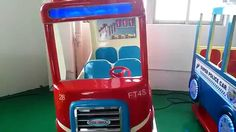 Kids Rides swing game machine –funny fire truck