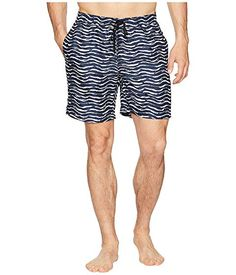 80142d9b62 ONIA Calder 10 Diamond Wave Swim Trunk, GRENADINE/WHITE. #onia #cloth | Onia  | Swim trunks, Mens fashion, Swimwear