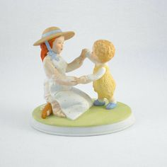 Holly Hobbie Figurine  Mothers Miracles by fiftysixtyseventy, $45.00