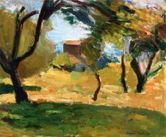 Henri Matisse - Corsican Landscape, 1898