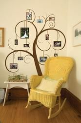 Great way to display photos on your wall.