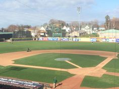 Erie SeaWolves of the Class AA Eastern League Opening Day at Jerry Uht Park on April 10, 2015
