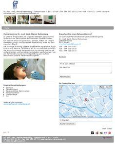 Zahnarzt, Dentalhygiene, Rekonstruktive Zahnmedizin, Zahnprothetiker, Implantologie, Zürich