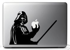 STICKERS for Mac DART FENER Star Wars - Macbook Pro Air 11 13 15 17'' mac book  (7.30 EUR) by Scrivilosuimuri