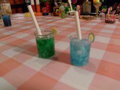DIY Miniatura Vaso de refresco o jugo divino