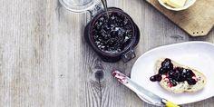 Brombærmarmelade med rom | SPIS BEDRE Acai Bowl, Sweet Tooth, Baking, Breakfast, Marmalade, Patisserie, Backen, Bread, Bakken