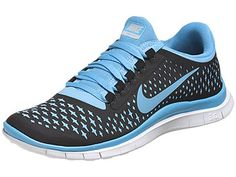 new style f9da1 89f33 Nike Free 3.0 v4 Women s Shoes Black Blue Platinum Roshe Run Shoes, Nike