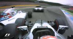 Felipe Massa vs Kevin Magnussen@Start to 1st corner/2014 GermanGP