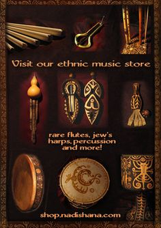 Rare ethnic musical instruments, CDs, DVDs, merch and more!