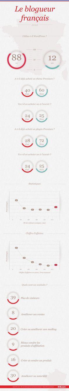 Les chiffres du blogging en France en 2012