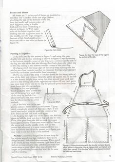 Make a split leg pottery apron-page 3