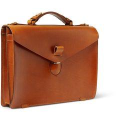Tarnsjo Garveri - Icon Leather Briefcase   MR PORTER
