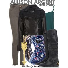 Inspired by Crystal Reed as Allison Argent on Teen Wolf.