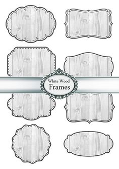 Digital Frames Labels Tags Clipart Paper by Silvercrystalscouk