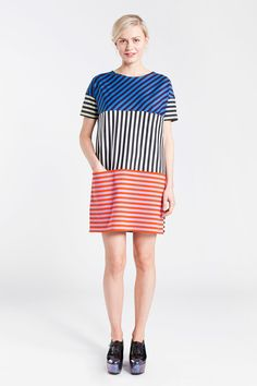 Apparel: Marimekko Platu dress in multicolor Teen Girl Outfits, Fall Outfits, Fashion Outfits, Marimekko Dress, Style Me, Cool Style, Stylish Dresses, Clothes For Sale, Fashion Forward