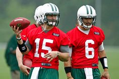 Tim Tebow, Mark Sanchez from the NY Jets