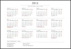 Kalender 2015 Indonesia - Design_37_Refined