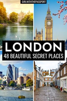 Want to visit London like a local but have no idea where to go or what to see in London? Then check out this London guide, written by a frequent London Traveler, which will help you get off the beaten path and plan a unique trip to London with 48 unusual things to do in London that everyone will love! Things you can easily add to your London itinerary to help you plan the perfect, London trip. #London #LondonTravel #ExploreLondon #VisitLondon #LondonTrip Secret Places In London, London Places, Things To Do In London, Trips To London, London England Travel, London Travel, Cool Places To Visit, Places To Travel, Places To Go