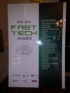 The 2014 #FastTechAwards by the #SFBJ Event!