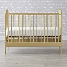 Larkin Gold Crib   The Land of Nod