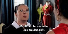 Dorota gets it, crazy eyes and all.