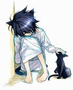 L- Death Note ♥♥♥Cutee