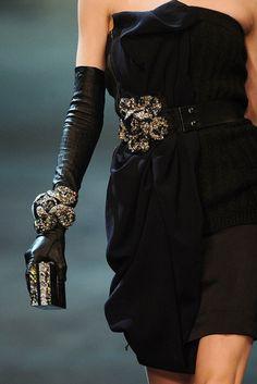 belt. gloves. cuff. clutch.
