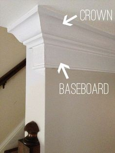 Combine different moldings to create a one of a kind look.