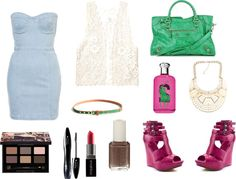 """Denim :)))"" by mclucky16 on Polyvore"