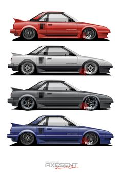 Toyota MR2 AW11 by Axesent