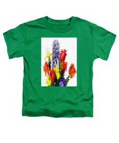 Toddler T-Shirt - Abstract Flower 0801