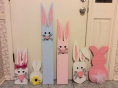 Bunnies for Easter!!