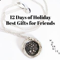 It's the 12 Days of Holiday, where we're showcasing the best handmade and vintage jewelry gifts at Stacey Fay Designs. Today we highlight some perfect friend gifts, and provide a 20% coupon! http://staceyfaydesigns.com/the-12-days-gift-guide-day-1-gifts-for-friends/