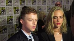 Crystal Pyramid Crew‏ now More Valerian (Dane DeHaan) and his sharp-tongued partner Laureline (Cara Delevingne) at San Diego Comic Con 2016 Dane Dehaan, San Diego Comic Con, Sci Fi Movies, Cara Delevingne, Crystal, Sci Fi Channel Movies, Crystals