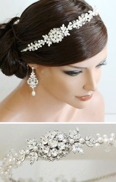 Bridal Headband Tiara