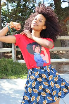 Tee available www.globalcouture.net Natural Hair Shirts, Natural Hair Styles, Black Pride, Natural Hair Journey, Cute Shirts, Couture, Tees, How To Wear, Outfits