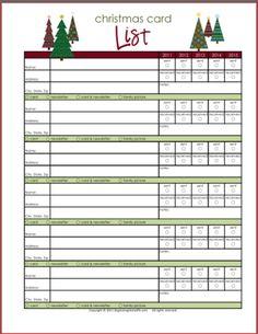 Printable Christmas List Template Top 10 Free Christmas Printables For Your Home & Family  Free .