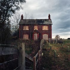 Abandoned house in Alderley Edge, Cheshire, England photographed by Chris Bethell