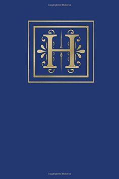 Ruled Monogram Journal H