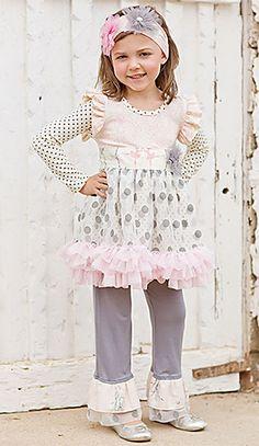 Giggle Moon Graced Girls Tutu Dress Birthday Pink PREORDER $76.00