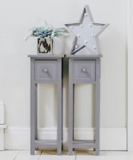 Pair of Bedside Tables With Drawer ...