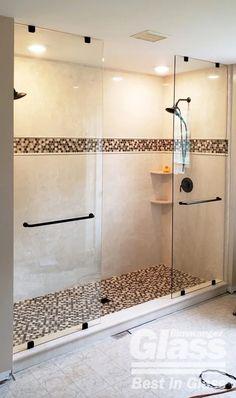 Custom Showers | Binswanger Glass Frameless Shower Enclosures, Dream Shower, Custom Shower, Glass Shower Doors, Custom Glass, Showers, Home, Ad Home