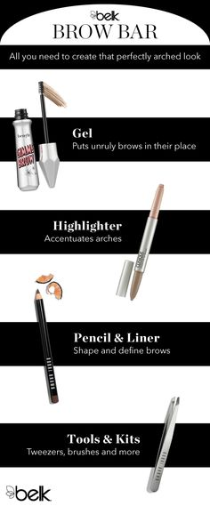 Your eyebrows accentuate your best feature, your eyes, and untamed, shapeless brows can ruin the best makeup looks. Get brows in shape with pencils, fillers, tools and other products to tame, define and highlight. Shop an array of brow products in-store and at belk.com.