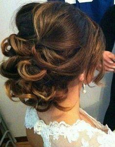 Cute Wedding Hair Style
