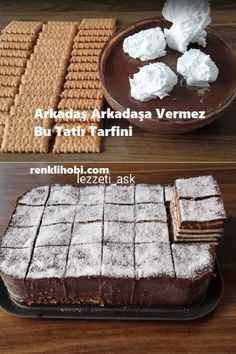 Turkish Recipes, Ethnic Recipes, Pasta Cake, Cupcake Cookies, Diy Food, Pie Recipes, Bakery, Food And Drink, Yummy Food