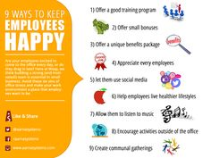 9 ways to keep Employes Happy Ecommerce Web Design, Website Design Services, Customer Experience, Training Programs, Image Collection, Collections, Business, Happy, Workout Programs