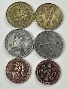 Gold Fantasy Coins for RPG and fun!